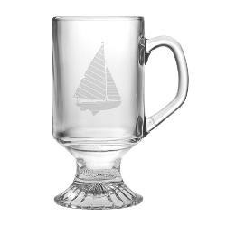 Sailboat Footed Mugs