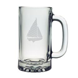 Sailboat Pub Beer Mugs