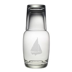 Sailboat Night Bottle Set