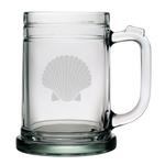Fan Shell Tankard Mugs