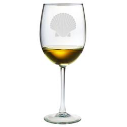 Fan Shell AP Wine Glasses