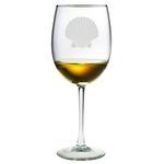 Fan Shell AP Wine Glasses