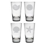 Seashore Highball Glasses