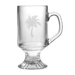Palm Tree Footed Mugs