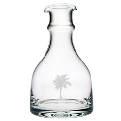 Palm Tree Double Spouted Carafe