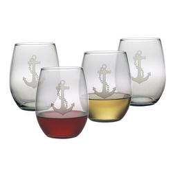 Anchor Stemless Wine Glasses