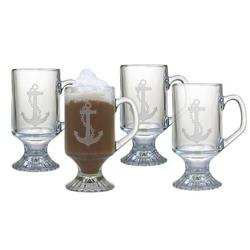 Anchor Footed Mugs