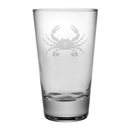 Crab Tapered HiBall Glasses