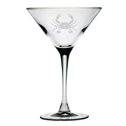 Crab Martini Glasses