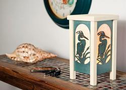 Heron Table Lantern