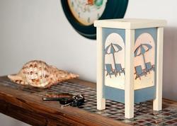 Beach Chair Table Lantern