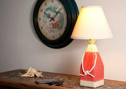 Red Buoy Table Lamp
