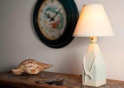 White Buoy Lamp