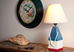 Multi Color Buoy Table Lamp
