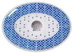 "Moroccan Shell 16"" Platter"