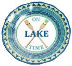 """On Lake Time 9"""" Salad Plate"""