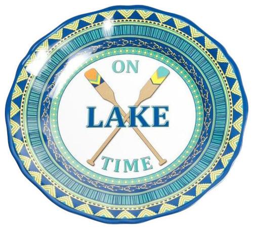 On Lake Time 11  Dinner  sc 1 st  Galleyware & Melamine Lake Plates   Melamine Lodge Plates