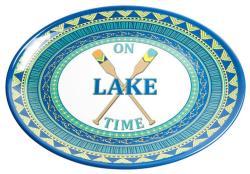 """On Lake Time 16"""" Platter"""