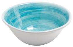 Blue Raised Starfish Soup Bowl