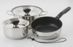 Nesting 9 Piece Hybrid Induction Cookware