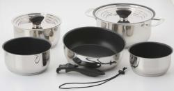 Galleyware 14-Pc. Nesting Non-Stick Induction Cookware Set