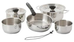 Galleyware Nesting 14-pc. Stainless Steel Induction Cookware Set