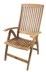 Weatherly Folding 6-Position Deck Chair