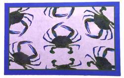 Blue Crab Coastal Mat
