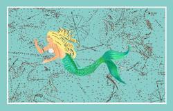 Mermaid Coastal Mat