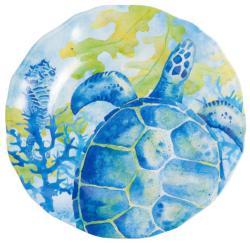 """Sea Turtle 11"""" Dinner"""