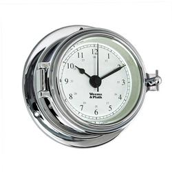 Weems & Plath Endurance II Chrome Quartz Clock 120500