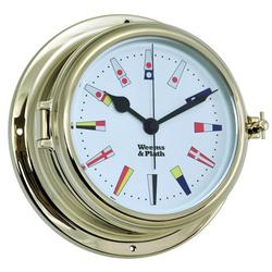 Weems & Plath Endurance II 135 Quartz Clock 12 Hour Flag Dial 950505