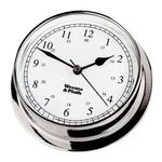 Weems Chrome Endurance 125 Quartz Clock 540500