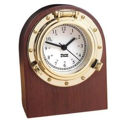 Weems & Plath Porthole Desk Clock 312400