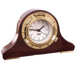 Weems & Plath Nautical Tambour Clock 410500