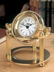 Weems & Plath Brass Solaris Desk Clock 790500