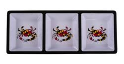 Maryland Crab State Flag Appetizer Tray
