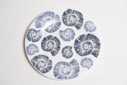 Nautilus Shell Dinner Plate
