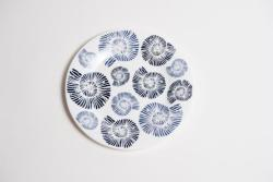 Nautilus Shell Salad Plate