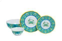 "Paisley Crab Sets with 11"" Serving Bowl"