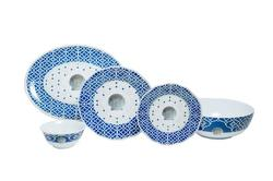 "Moroccan Shell Box Sets with 11"" Serving Bowl & 16"" Platter"