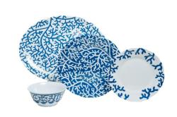 "Blue Coral Box Sets with 16"" Platter"