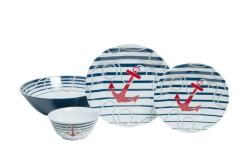 "Dockside Sets with 11"" Serving Bowl"