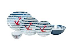 "Dockside Sets with 11"" Serving Bowl & 16"" Platter"
