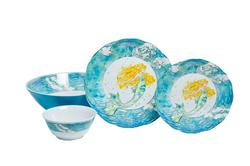 """Mermaid Sets with 11.75"""" Serving Bowl"""