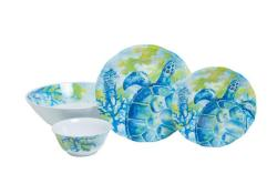 """Sea Turtle Sets with 11.75"""" Serving Bowl"""