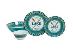 On Lake Time Sets with Serving Bowls