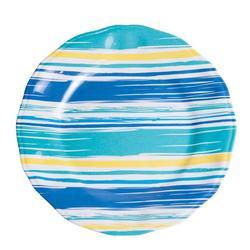 """Coastal Lines 11"""" Dinner Plate"""