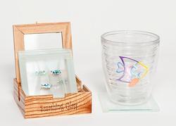 Fish & Weed Coasters