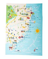 Jersey Shore Kitchen Towel
